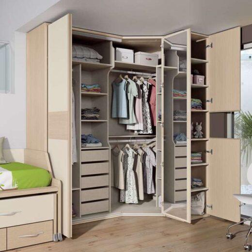 armario moderno dormitorio juvenil