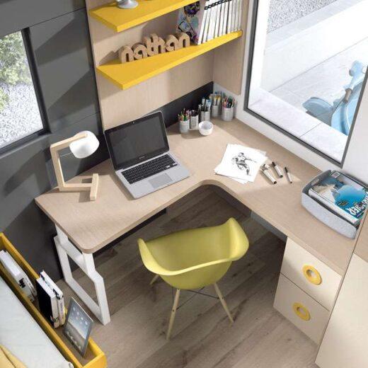 dormitorio juvenil compacto 015SP0093