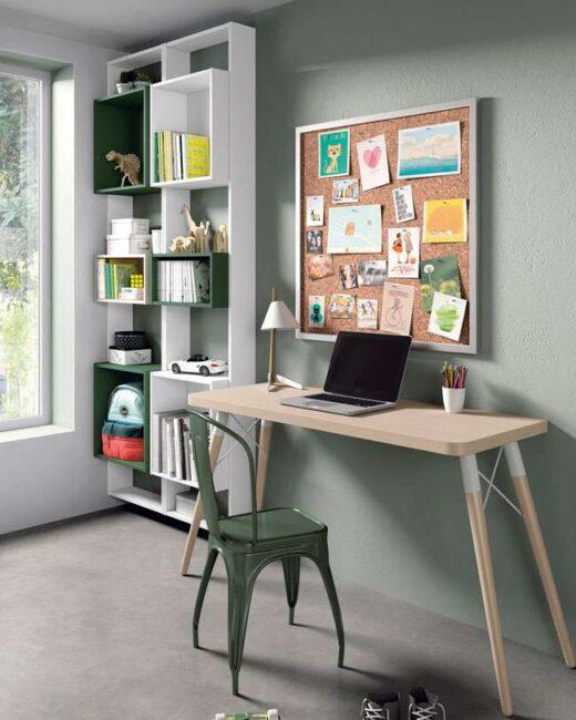 escritorio dormitorio juvenil madera 015SP0082