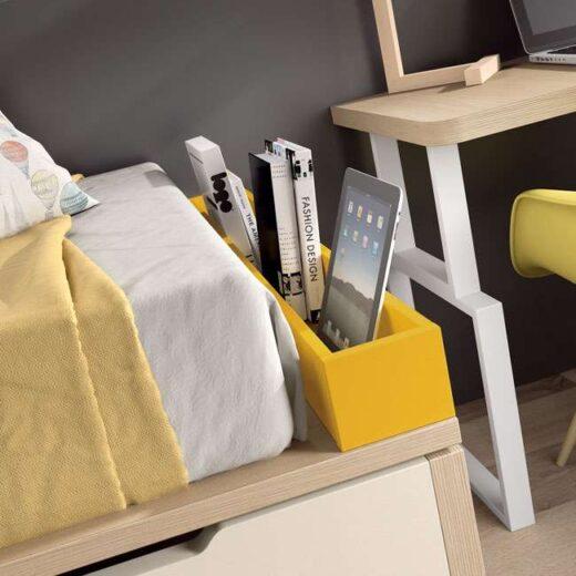 habitacion camas compactas juveniles cajones 015SP0094
