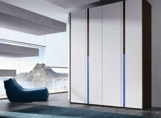 armario dormitorio alto 4 puertas batientes moderno 089AR0041