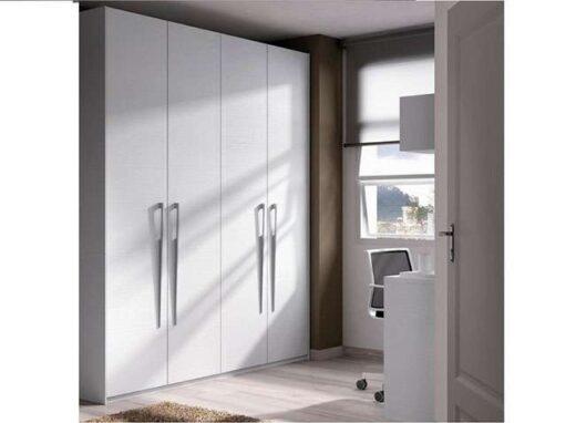 armario liso blanco 4 puertas abatibles 089AR0061