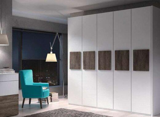 armario moderno elegante 5 puertas batientes 089AR0051