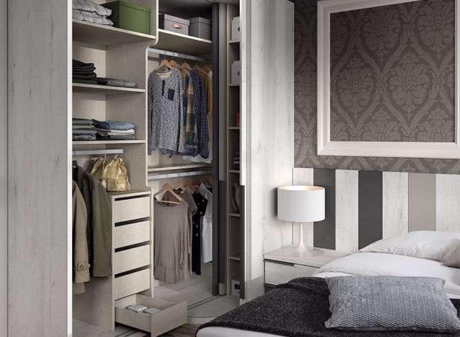 armario esquinero puertas correderas para dormitorio