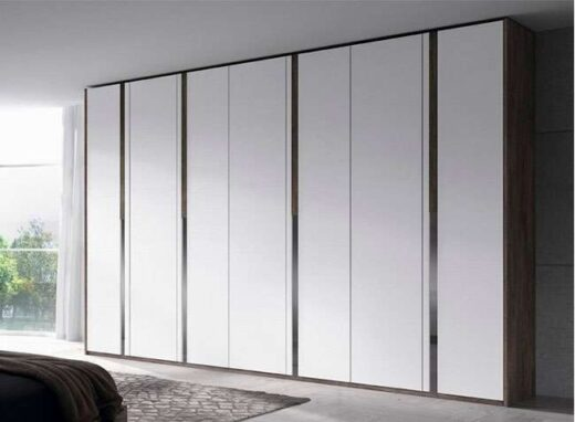 grande armario 7 puertas abatibles irregulares blanco 089AR0031
