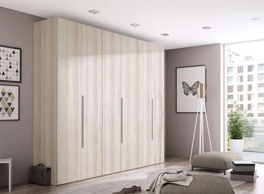 ropero armario gran capacidad 6 puertas batientes 040AR0011