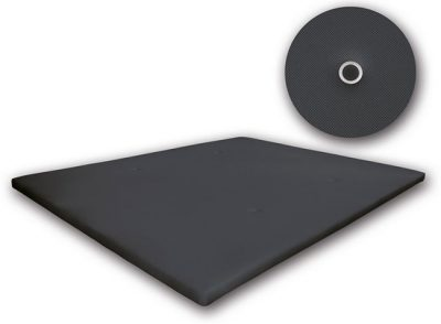 Base de cama tapizada sin patas