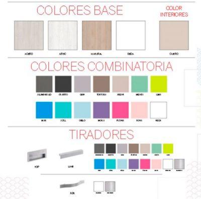 Cama compacta con cajones y escritorio + armario (opcional)