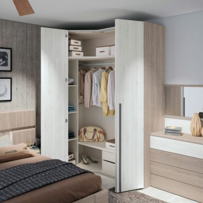 Conjunto cabezal con leds + 2 mesitas con cajones diseño moderno (resto de mobiliario aparte)