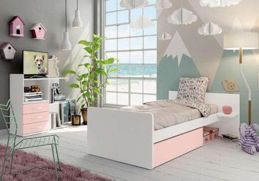 habitacion cambiador modular cuna convertible cama 076LI0322