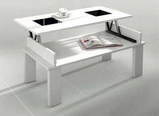 mesa elevable elevable 4 patas tapa cristales contemporaneo 162CE023