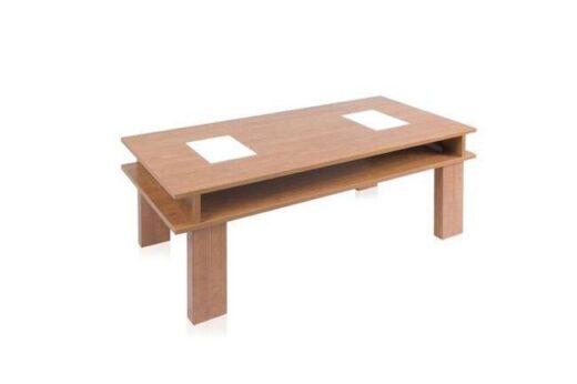 mesa elevable 4 patas tapa cristales contemporaneo centro cerezo162CE0232