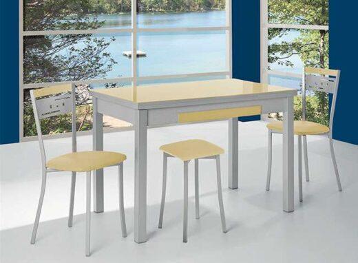 Mesa cocina 100x60cm extensible (disponible en más medidas y colores)