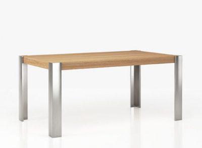 Mesa de comedor 140×190 madera de 4 patas rectas (personalizable)