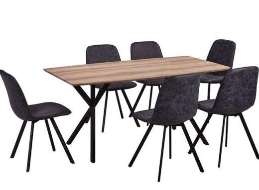 mesa comedor 160x90 doble tripode 612ME005
