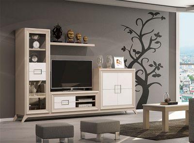 Muebles modular moderno de salón con patas