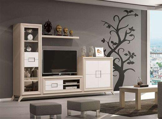 mueble salon modular moderno con patas 316SA0011