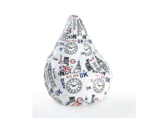 puff amoldable pera original Londres 246TC0012