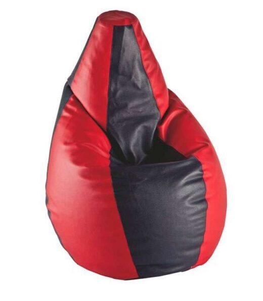 puff amoldable pera negro rojo 246TC0013