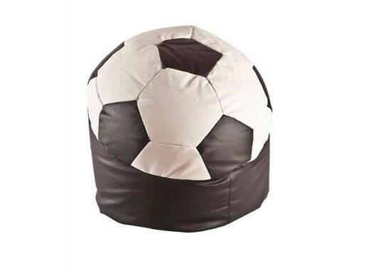 puff balon futbol blanco y negro 246TC003