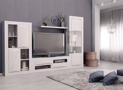 salon modular moderno blanco 316SA0371