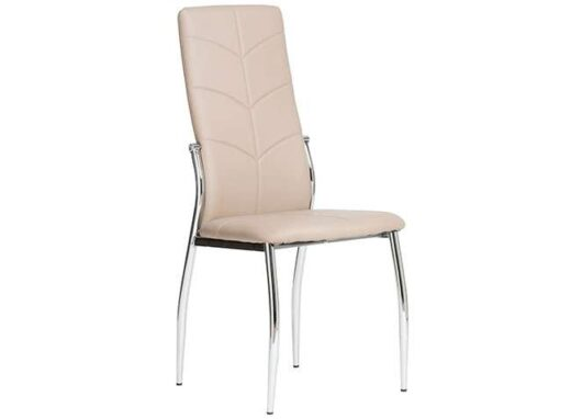 silla capuchino comedor respaldo alto piel moderna 612SI0552