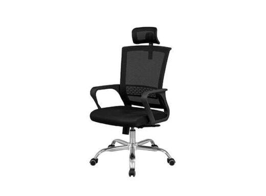 silla con malla apoya cabeza regulable pvc 162ES0091