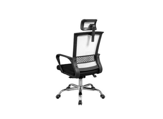 silla con malla pvc apoya cabeza regulable 162ES0092