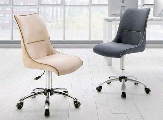 silla despacho moderna ruedas tapizado 054ES001