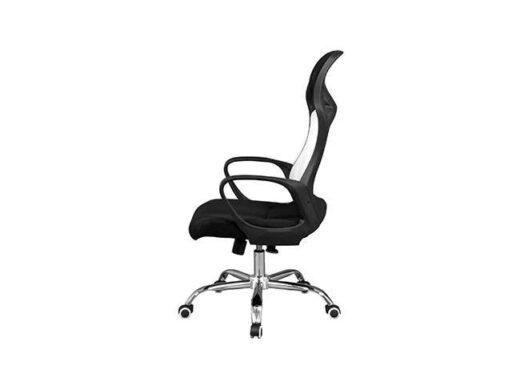 silla negra ergonomica oficina 162ES0112