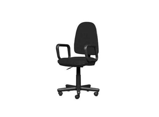 silla negra escritorio giratoria con ruedas 162ES0121