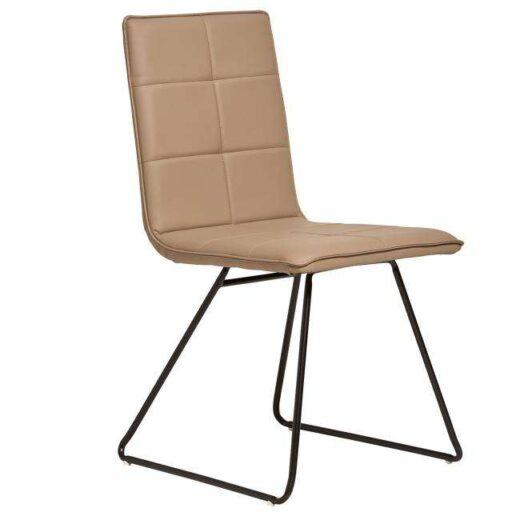silla camel industrial tapizada asiento rectangular 612SI0432