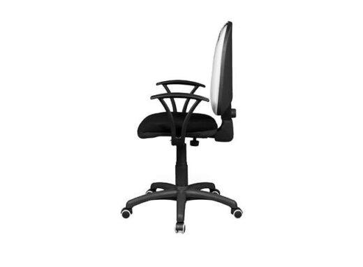 silla estudio ruedas y respaldo elevable acolchado 162ES0072