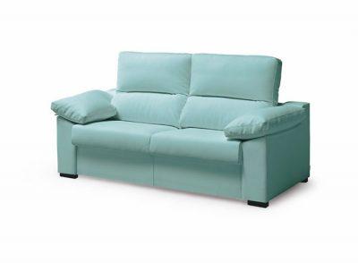 Sofá cama con apertura italiana de 3 plazas