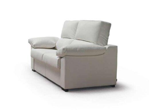 sofa cama blanco apertura italiana 3 plazas 004CA0024