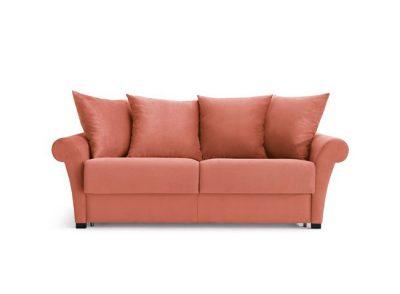 Sofá cama moderno chester liso de 3 plazas
