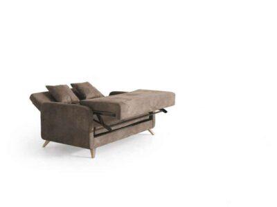 Sofá cama nórdico de 2 plazas con patas