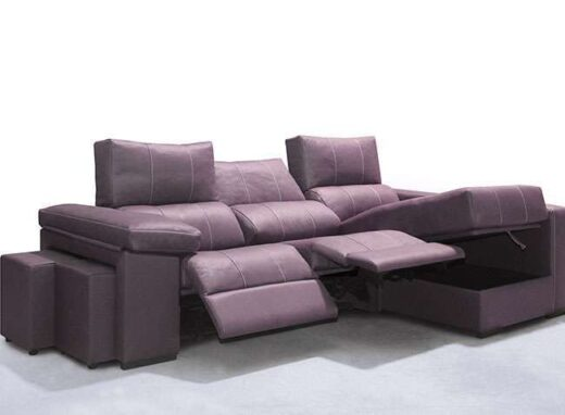 sofa chaise longue asientos motorizados puffs en brazo arcon 315SO0031