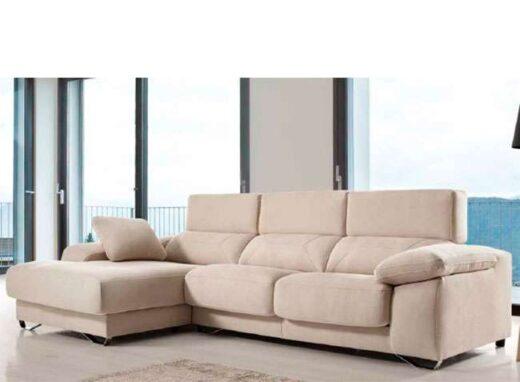 sofa moderno comodo cheslong deslizante 083QU0061