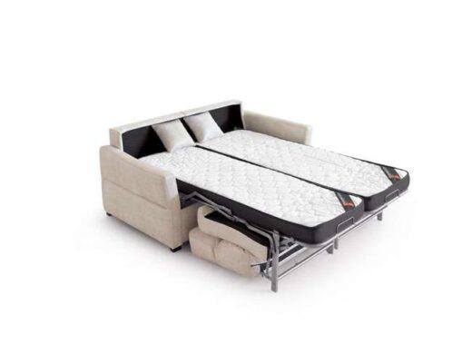 sofa italiano color hielo dos camas 004CA0081