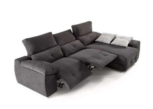 sofa chaise longue relax motorizado reclinable 083QU0032