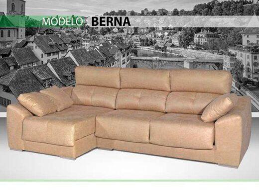 sofa cheslong beige 159berna