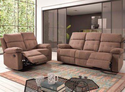 Sofá 3 plazas relax eléctrico Dakota