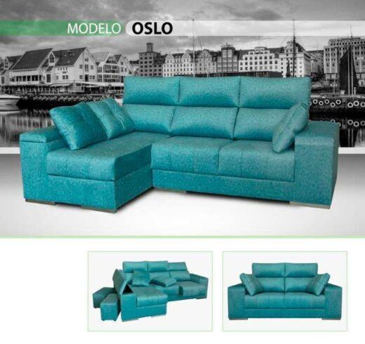 sofa cheslong color turquesa 159oslo2