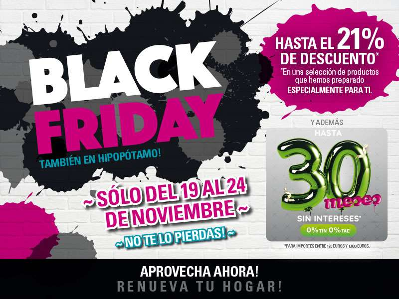 black friday 2018 muebles zaragoza