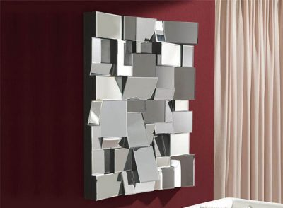 Espejo de rectángulos asimétricos original