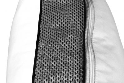 Almohada algodón antiácaros visco y fibra hipoalergénica