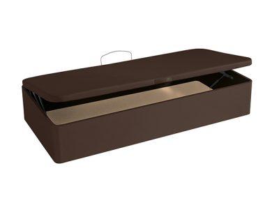 Canapé abatible 135 x 190 polipiel apertura lateral