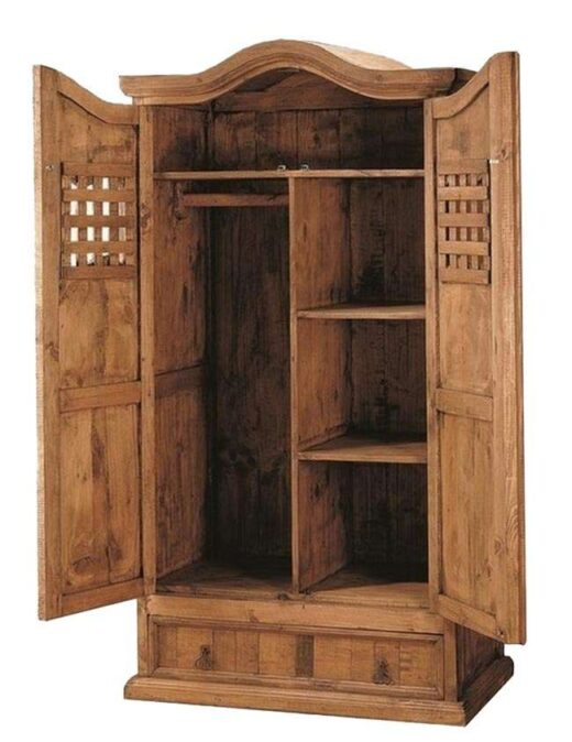 armario-rustico-clasico-2-puertas-1-cajon