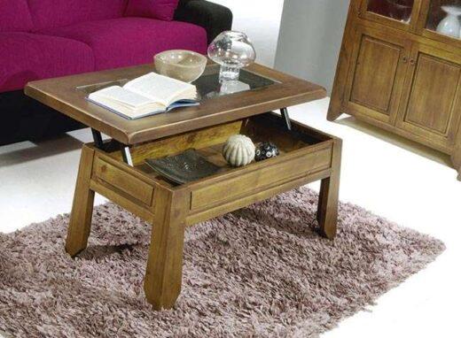 mesa-centro-rustica-elevable-rectangular-con-cristal